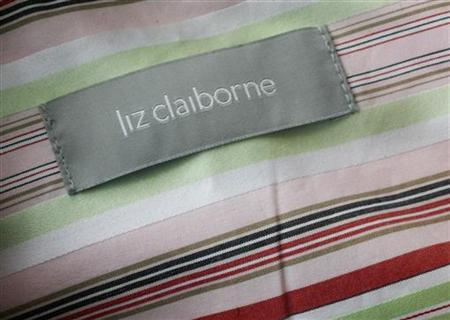 A Liz Claiborne label is shown on a woman's blouse in Burbank, California May 13, 2008. REUTERS/Fred Prouser
