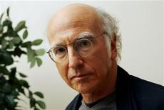"<p>Writer and actor Larry David, who stars in the new film by director Woody Allen ""Whatever Works"" poses for photographs in New York, June 11, 2009. REUTERS/Mike Segar</p>"