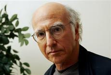 "<p>Estrela do novo filme de Woody Allen ""Whatever Works"" Larry David em Nova York. 11/06/2009. REUTERS/Mike Segar</p>"