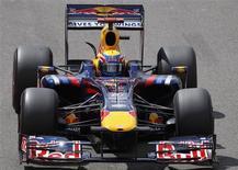 <p>Piloto Mark Webber da Red Bull em Silverstone. 19/06/2009. REUTERS/Andrew Winning</p>