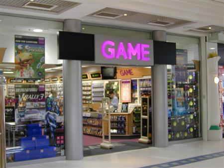 A Game store in Woking is seen in an undated handout photo. REUTERS/Game Group/Handout