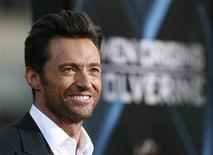 "<p>Cast member Hugh Jackman poses at an industry screening of ""X-Men Origins: Wolverine"" at the Grauman's Chinese theatre in Hollywood, California April 28, 2009. The movie opens in the U.S. on May 1. REUTERS/Mario Anzuoni</p>"