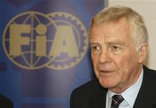 <p>Um novo acordo comercial para acabar com a ameaça de um racha na Fórmula 1 pode estar pronto dentro de alguns dias, disse a Federação Internacional de Automobilismo (FIA) nesta quinta-feira. REUTERS/Gareth Watkins (FRANCE SPORT MOTOR RACING HEADSHOT)</p>