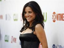 <p>Actress Julia Louis-Dreyfus poses at the CBS, CW & SHOWTIME press tour party in Hollywood, California, July 18, 2008. REUTERS/Mario Anzuoni</p>
