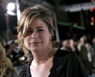"<p>Cast member Maura Tierney arrives for the premiere of the film ""Semi-Pro"" at the Mann Village Theater in Los Angeles, February 19, 2008. REUTERS/Danny Moloshok</p>"