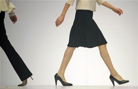 Women walk the runway in a file photo. REUTERS/Victor Fraile
