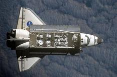 <p>In this image provided by NASA, the Space Shuttle Endeavour is seen as it was photographed by an Expedition 20 crew member during a survey of the approaching vehicle prior to docking with the International Space Station July 17, 2009. Picture taken July 17, 2009. REUTERS/NASA/Handout</p>