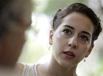 <p>Alexandra Ansanelli, First Ballerina of The Royal Ballet, London, talks during an interview with Reuters in Havana July 18, 2009. REUTERS/Enrique De La Osa</p>