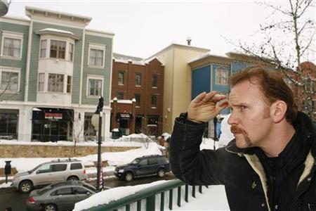 Director Morgan Spurlock poses for a portrait to promote his new film ''Where in the World Is Osama Bin Laden?'' during the 2008 Sundance Film Festival in Park City, Utah January 22, 2008. REUTERS/Lucas Jackson