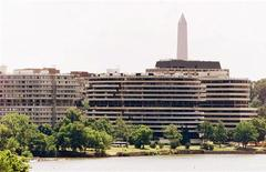 <p>L'Hotel Watergate sul Fiume Potomac, a Washington. REUTERS Pictures</p>