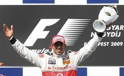 <p>Britânico Lewis Hamilton, da McLaren, venceu o GP da Hungria neste domingo. REUTERS/Dominic Ebenbichler</p>