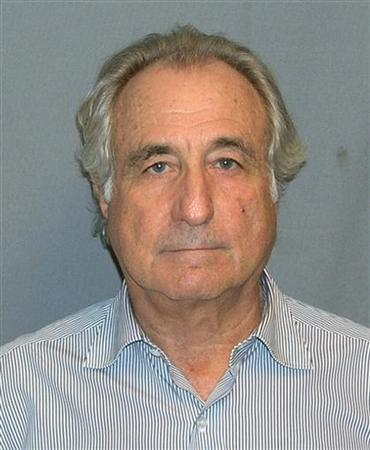 The mug shot of Bernard Madoff released to Reuters on March 17, 2009. REUTERS/UNITED STATES MARSHALS SERVICE/FOIA/Handout