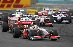 <p>Auto in pista durante un Gran Premio di Formula Uno. REUTERS/Dominic Ebenbichler</p>