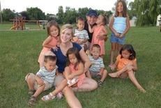 <p>Jon and Kate Gosselin are seen with their children in this undated handout photo. REUTERS/TLC network/Handout</p>