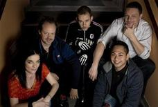 "<p>Members of the cast and crew of the Slamdance Film Festival movie ""I Sell The Dead"" pose for a portrait in Park City, Utah, January 17, 2009. From left are: actress Brenda Cooney, actor and producer Larry Fessenden, actor Dominic Monaghan, director Glenn McQuaid, and producer Peter Phok. REUTERS/Ramin Rahimian</p>"