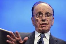 <p>Il numero uno di News Corporation, Rupert Murdoch. REUTERS/Jonathan Ernst</p>