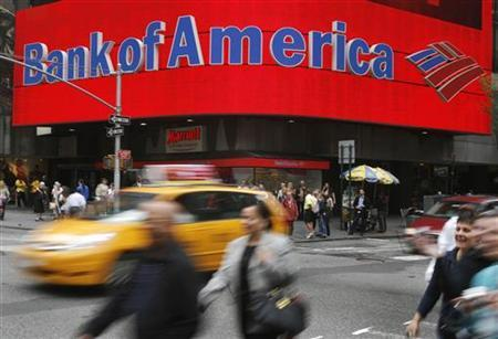 A Bank of America branch is pictured in New York May 7, 2009. REUTERS/Shannon Stapleton