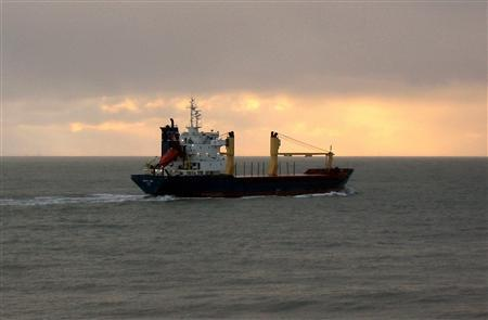 Undated photo of the Maltese-registered, Finnish-chartered vessel, Arctic Sea, that mysteriously disappeared off the coast of France two weeks ago. On Wednesday Russian warships were ordered to join the hunt for the ship, a 4,000-tonne bulk carrier with a 15-strong Russian crew that went missing shortly after passing through the Dover Strait between France and Britain late last month. REUTERS/SOVFRACHT