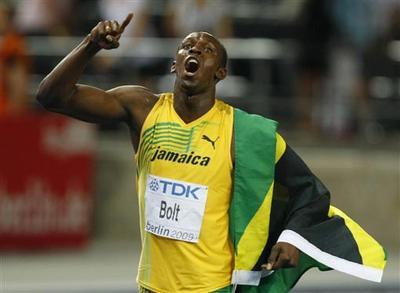 Usain Bolt's new record