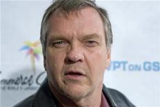 <p>Singer Meat Loaf poses on the red carpet of the World Poker Tour Celebrity Invitational at the Commerce Casino in Los Angeles, California, March 1, 2008. REUTERS/Hector Mata</p>