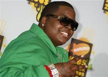 <p>Jamaican American reggae singer and rapper Sean Kingston poses at Nickelodeon's Kids' Choice Awards in Los Angeles, California March 29, 2008. REUTERS/Fred Prouser</p>