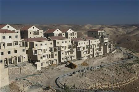 A view of a construction site in the West Bank Jewish settlement of Maale Adumim, near Jerusalem, August 24, 2009. REUTERS/Baz Ratner