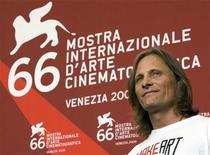 <p>L'attore americano Viggo Mortensen. REUTERS/Alessandro Bianchi (ITALY ENTERTAINMENT)</p>