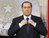 <p>Silvio Berlusconi. REUTERS/Giampiero Sposito</p>