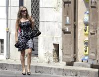 <p>Una immagine di Patrizia D'Addario. REUTERS/Fabio Serino (ITALY CRIME LAW POLITICS)</p>