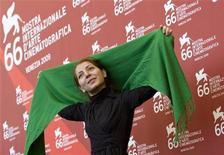 <p>Hana Makhmalbaf. REUTERS/Alessandro Bianchi</p>