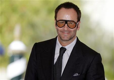 Fashion designer and film director Tom Ford arrives at the 66th Venice Film Festival September 10, 2009. Ford is competing for the Golden Lion Award with his film ''A single man''. REUTERS/Alessandro Bianchi