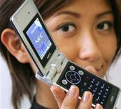<p>Nec, pioniere dei cellulari di terza generazione. REUTERS/Yuriko Nakao</p>