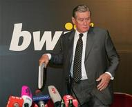 <p>Il capo dell'operatore di scommesse online Bwin Hannes Androsch. REUTERS/Herwig Prammer</p>