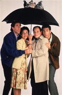 The stars of the television series ''Seinfeld'' are shown in this undated publicity photograph. Shown (L-R): Jerry Seinfeld, Julia Louis Dreyfuss, Jason Alexander and Michael Richards. REUTERS/Handout