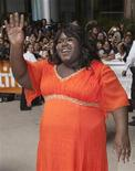 "<p>Actress Gabourey Sidibe arrives at the ""Precious"" film screening during the 34th Toronto International Film Festival, September 13, 2009. REUTERS/Mark Blinch</p>"