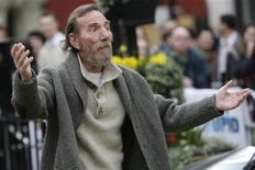 "<p>Pete Postlethwaite, protagonista del film ""The Age of Stupid"". REUTERS/Stefan Wermuth</p>"