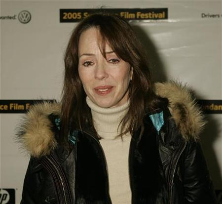Actress Mackenzie Phillips, one of the stars of the film ''The Jacket'', arrives for the screening of the film at the 2005 Sundance Film Festival in Park City, Utah January 23, 2005. REUTERS/Fred Prouser FSP/CN
