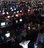 <p>Un torneo di videogiochi. REUTERS/Johan Nilsson/Scanpix (SWEDEN)</p>