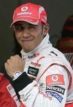 <p>Il pilota della McLaren Lewis Hamilton.REUTERS/Aly Song</p>