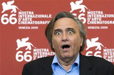 Director Joe Dante poses during a photocall of ''The Hole'' during the 66th Venice Film Festival September 11, 2009. REUTERS/Alessandro Bianchi