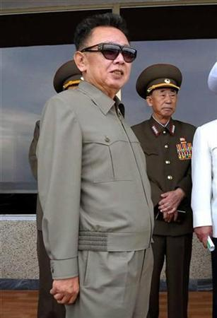 North Korean leader Kim Jong-il pictured on September 13, 2009. REUTERS/KCNA