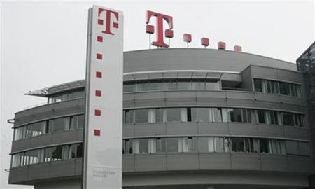 The company headquarters of Deutsche Telekom AG is pictured in Bonn May 30, 2008. REUTERS/Ina Fassbender
