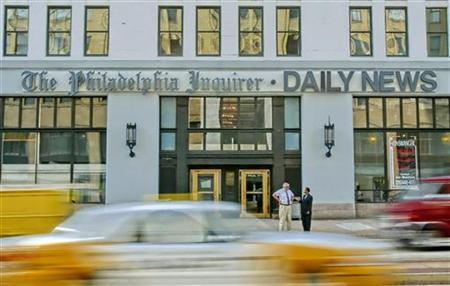 A general view of the Philadelphia Inquirer/Daily News headquarters building on Broad Street in Philadelphia in this October 6, 2005 file photo. REUTERS/Tim Shaffer/Files