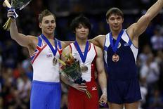<p>O ginasta russo Yury Ryazanov morreu em um acidente de carro nesta terça-feira, cinco dias depois de conquistar uma medalha de bronze no campeonato mundial, informou a polícia. REUTERS/Eddie Keogh (BRITAIN SPORT GYMNASTICS)</p>