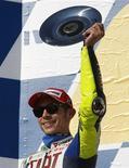 <p>O campeão mundial de MotoGP Valentino Rossi vai pilotar um Ford Focus em março de 2010 no Rali do México, uma etapa do Campeonato Mundial de Rali da FIA. REUTERS/Mick Tsikas (AUSTRALIA SPORT MOTOR RACING)</p>