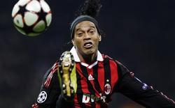 <p>O brasileiro Ronaldinho Gaúcho, do Milan, durante o jogo contra o Real Madrid, em Milão. REUTERS/Stefano Rellandini</p>