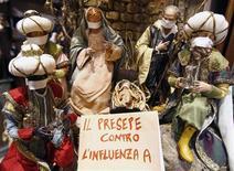 <p>Un presepe napoletano REUTERS/Stefano Renna/Agnfoto</p>