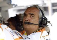<p>L'ex team manager Renault Flavio Briatore. REUTERS/Luca Bruno</p>