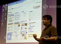 <p>La presentazione di Google Chrome. REUTERS</p>