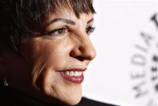<p>A atriz Liza Minnelli participou de evento em Nova York. REUTERS/Carlo Allegri</p>